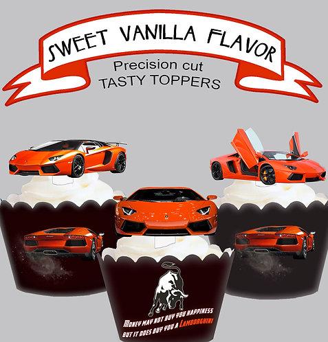 Exotic Car Lamborghini Toppers