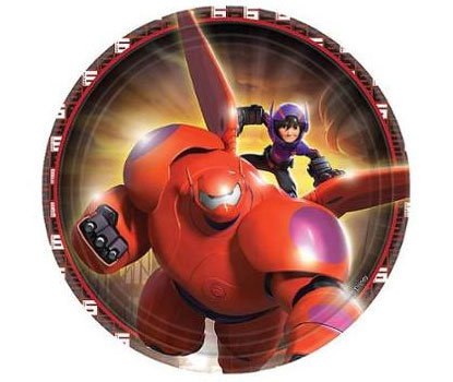 Big Hero 6 Baymax Party Plates