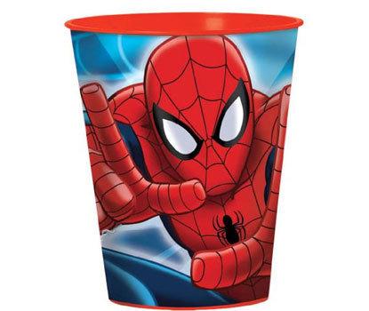 Spiderman Party Plastic Souvenir Cup