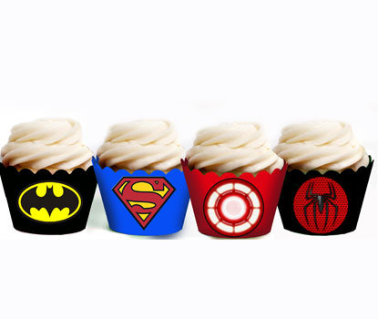 Superhero Party Wraps