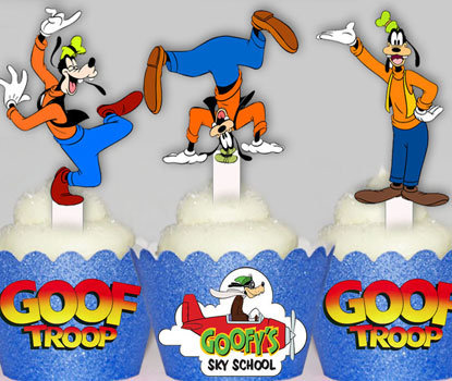 Goofy Toppers