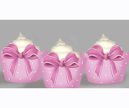 Pink Bow Wraps