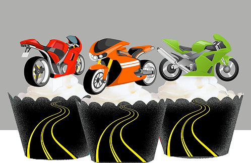 Motorcycle Toppers