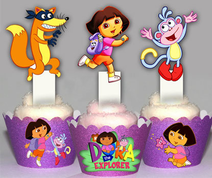 Dora the Explorer Toppers