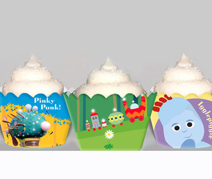 In the Night Garden Cupcake Wrappers