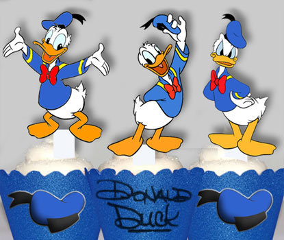 Donald Duck Toppers