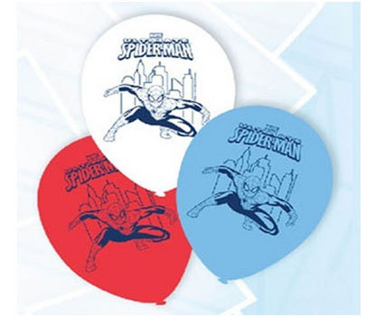Spiderman Superhero Balloons
