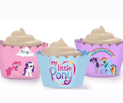 Pastel My Little Pony Wraps