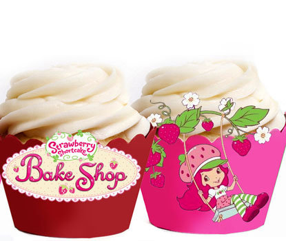 Strawberry Shortcake Cupcake Wrappers