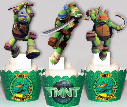 TMNT Ninja Turtle Toppers