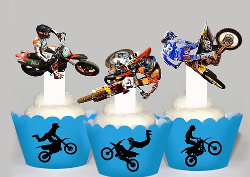 Motorcross Toppers