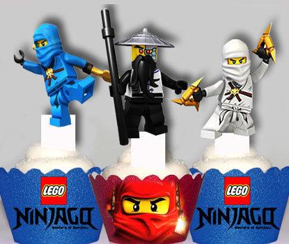 Lego Ninjago Toppers