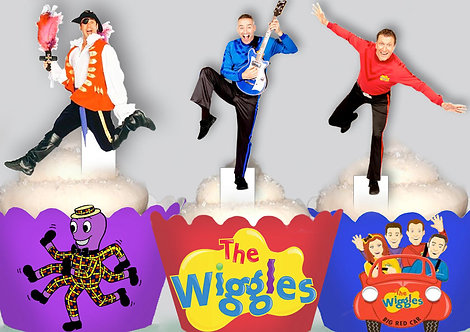 The Wiggles Party Toppers