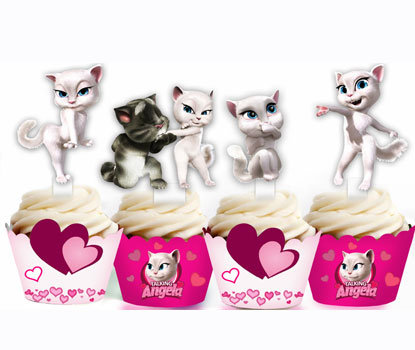 Kitty Cat Toppers