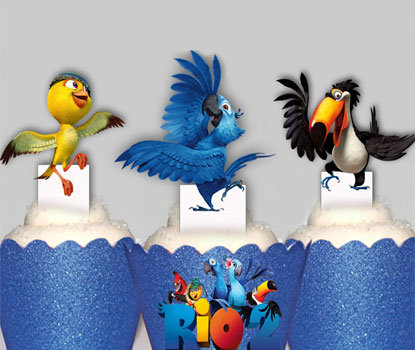 Rio 2 Toppers