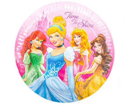 Sparkle Princess Plates