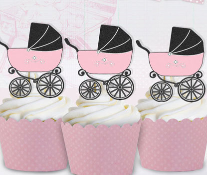 Pink Prams Toppers