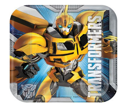 Transformers Party Plate