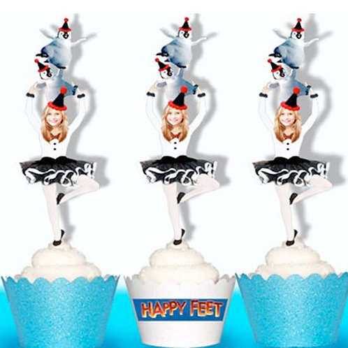 Happy Feet Movie Toppers