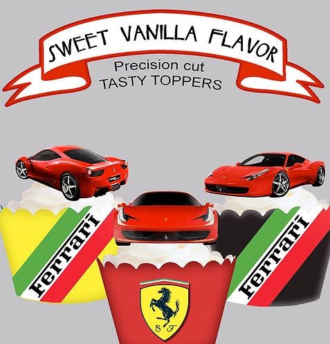 Exotic Car Ferrari Fun Toppers