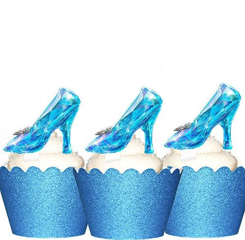 Cinderella Glass Slipper Toppers
