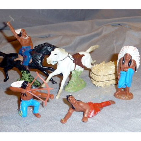 Wild West Cowboys and Indians Toppers