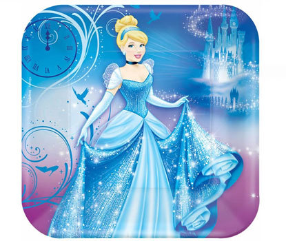 Cinderella Dinner Plates