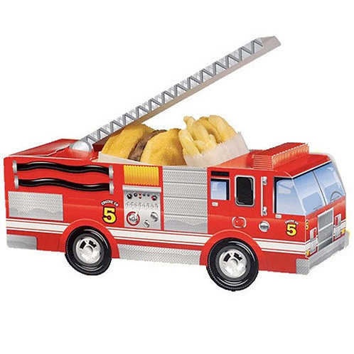 Fire Engine Loot Bag - Food Carton