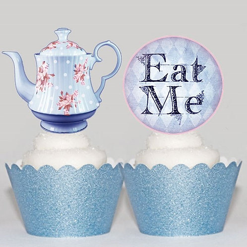 Alice Tea Party  Toppers