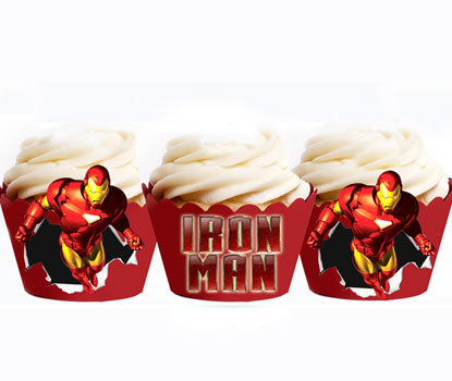 Ironman Party Wraps