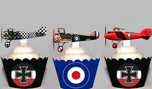 WW1 Aviation Fighter Planes