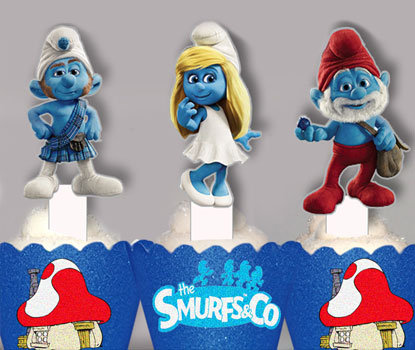 Smurf Toppers