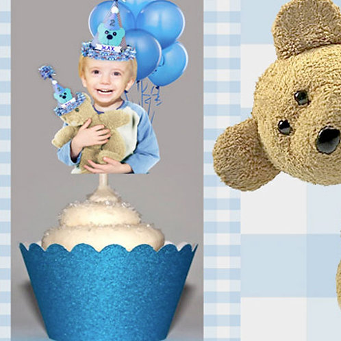 Teddy Bear Picnic Toppers