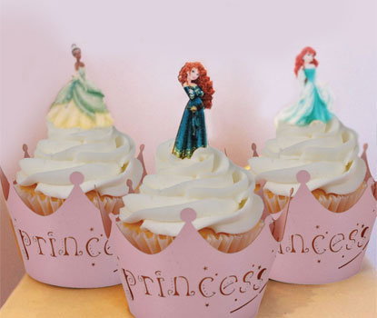 42 Mini Princess Toppers