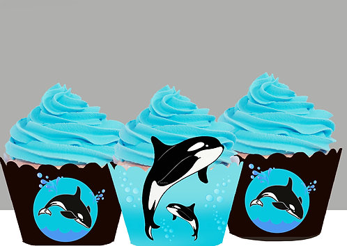Killer Whale Party  Wrappers