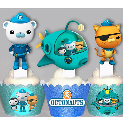 Octonauts Toppers