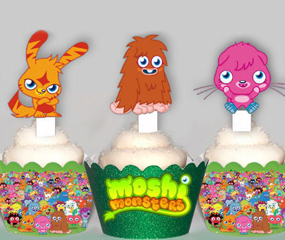 Moshi Monsters Toppers
