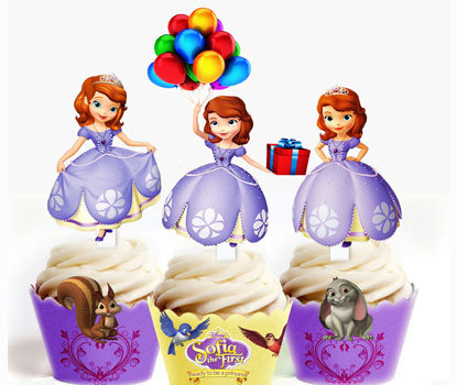 Sofia the First Toppers
