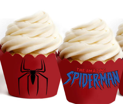 Spiderman Super Hero Wraps