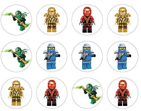Lego Ninjago Disc Toppers