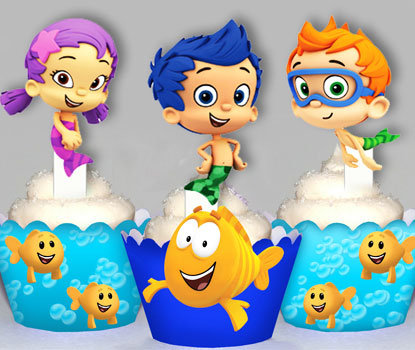 Bubble Guppies Toppers