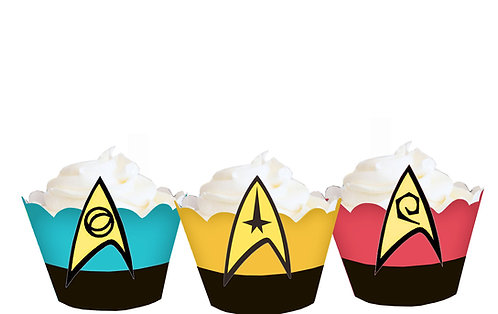 Star Trek Party Wraps