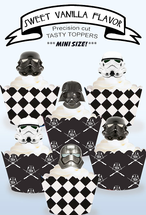 Starwars Storm Trooper Toppers