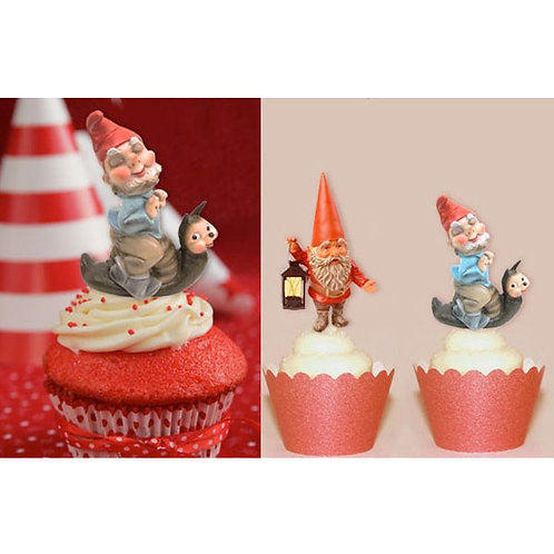 Garden Gnome Toppers