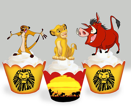 Lion King Party Toppers