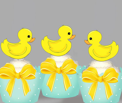 Baby Duck Toppers