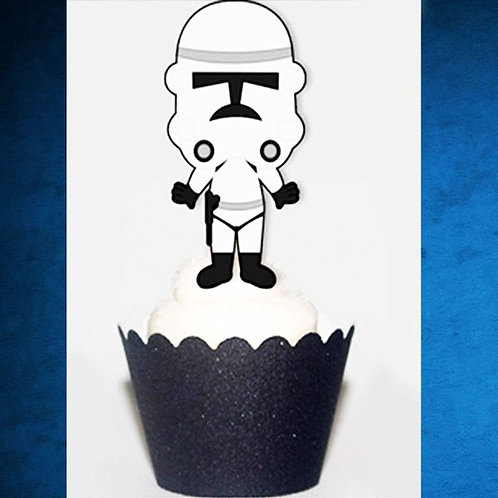 Cute Starwars inspired Toppers