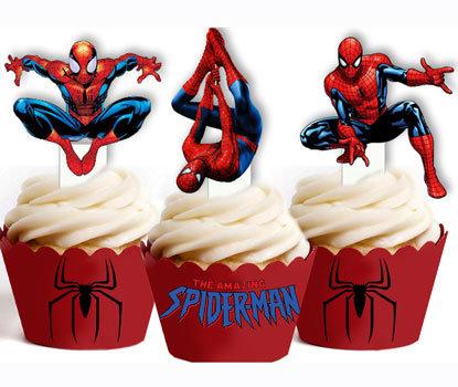 Superhero Spiderman Toppers