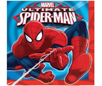 Spiderman Superhero Napkins