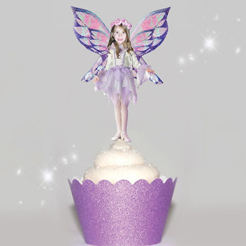 Purple Fairy Toppers